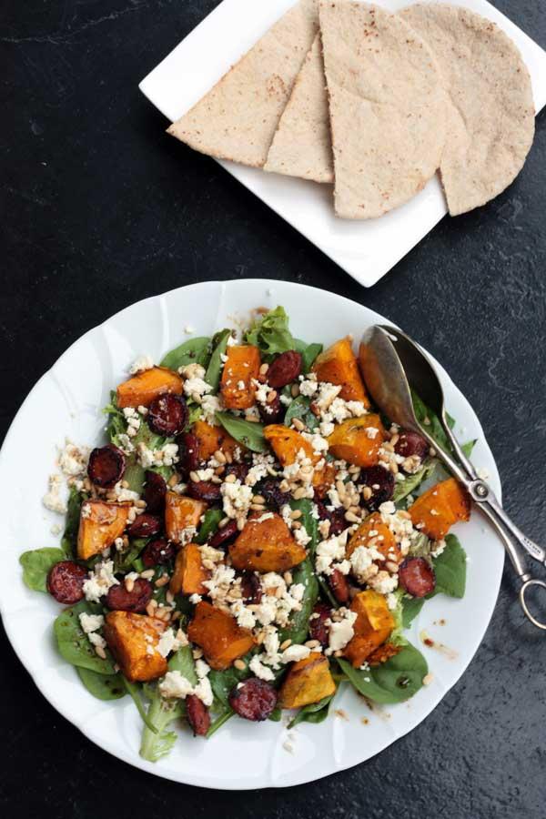 pumpkin-chorizo-feta-salad-3