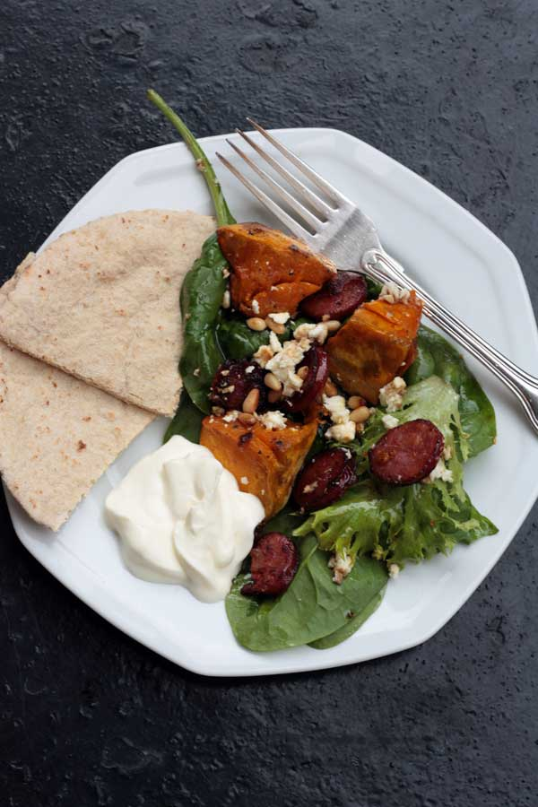 pumpkin-chorizo-feta-salad-4