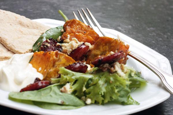 pumpkin-chorizo-feta-salad-close-up