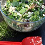 Blueberry, fennel, feta & quinoa salad