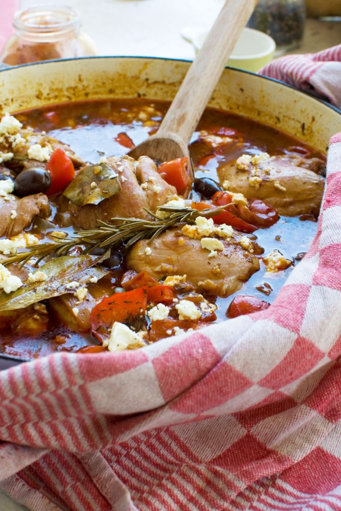 Stove-top Mediterranean Chicken Casserole