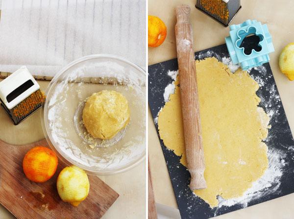 making Shrewsbury Biscuits