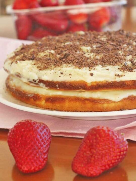white chocolate, coconut & lime truffle cake from scrummylane.com