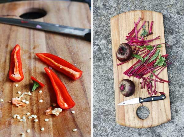 chili & beetroot
