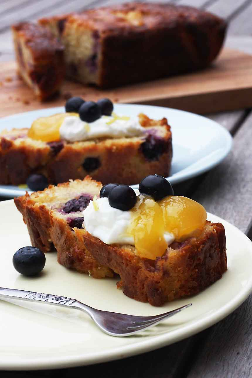 Lemon And Blueberry Cake Bbc