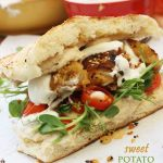 SWEET POTATO FALAFEL BY SCRUMMY LANE