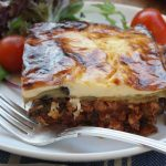 Skinny chicken moussaka