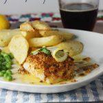 Posh fish & chips