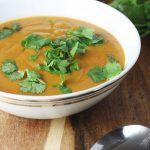 Crock pot Thai pumpkin & red lentil soup - plus 5 favourite crock pot tips!