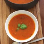 A classic tomato soup to have in your recipe repetoire!