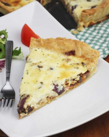 A really good classic quiche lorraine