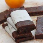5-ingredient raw chocolate orange bars