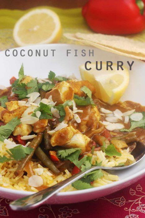 20-minute coconut fish curry