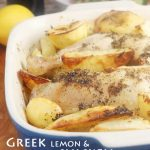 Greek lemon & oregano chicken with crispy potatoes