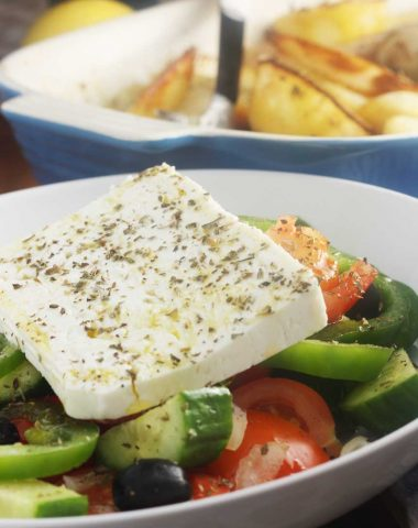 A perfect Greek salad