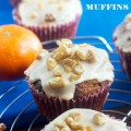 Spiced tangerine, walnut & chocolate chip muffins