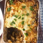 Cheat's Greek pastitsio (with a yoghurt topping)