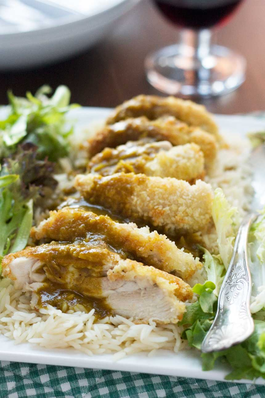 Chicken katsu curry (with an easy curry sauce) - Scrummy Lane
