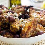 Greek baked chicken wings (from Recipe Tin Eats!)
