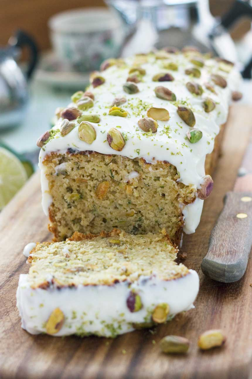 Pistachio And White Chocolate Loaf Cake