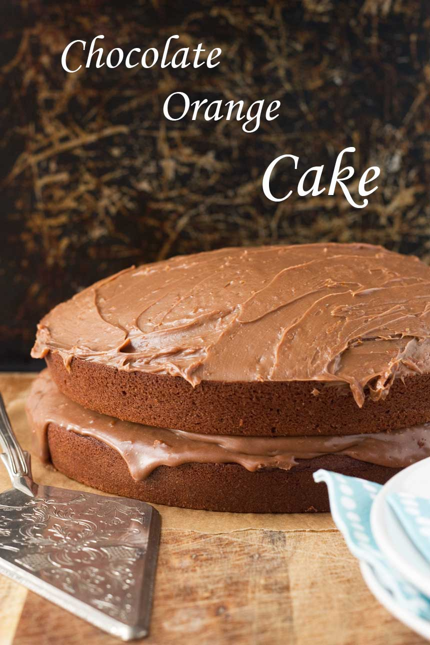 Chocolate orange cake (really good, really simple) - Scrummy Lane