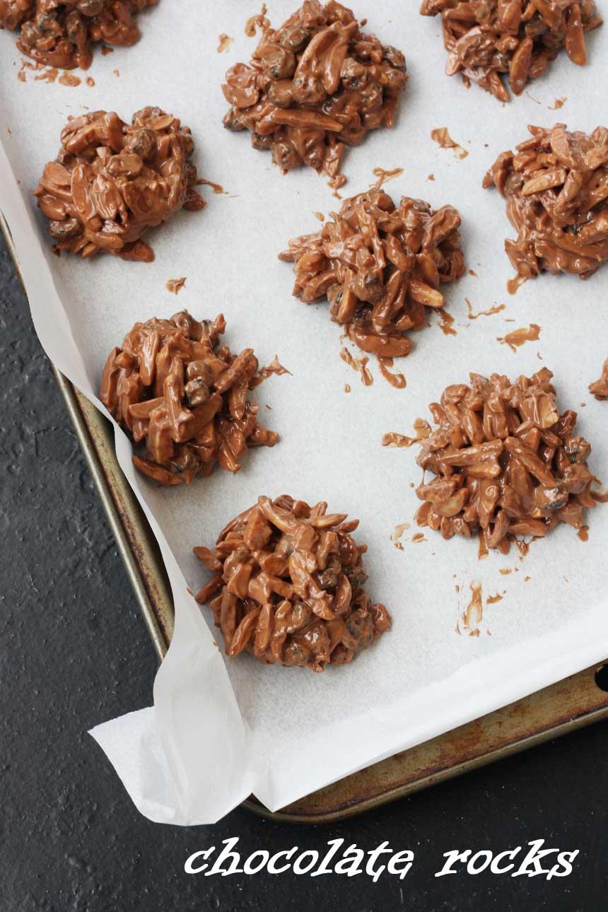 Chocolate rocks from Scrummy Lane