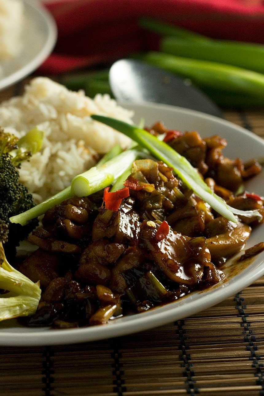 15-minute Shanghai chicken