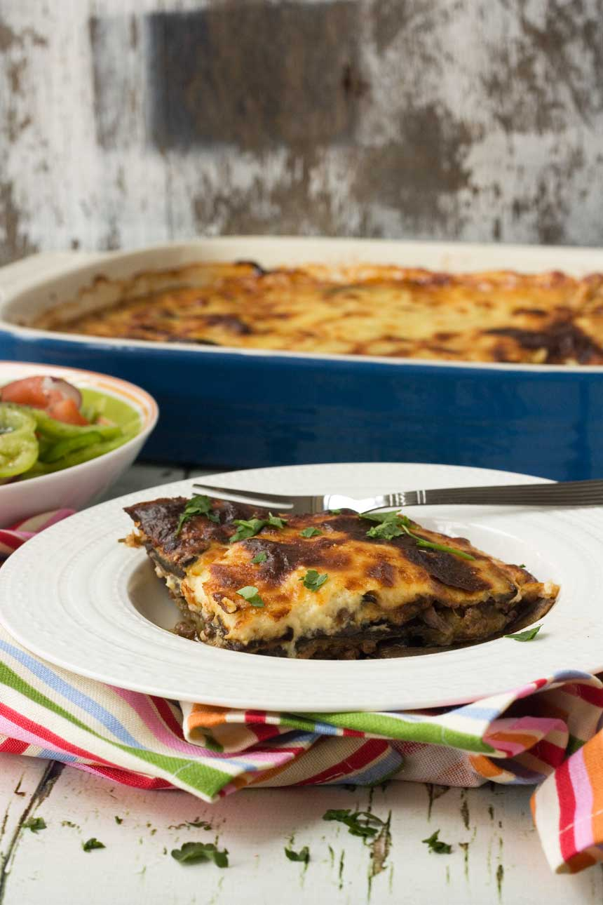 Easy Greek moussaka