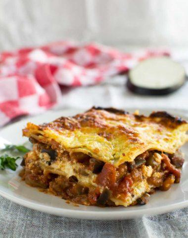 2-in-1 meal: Lasagne alla norma (eggplant lasagne)