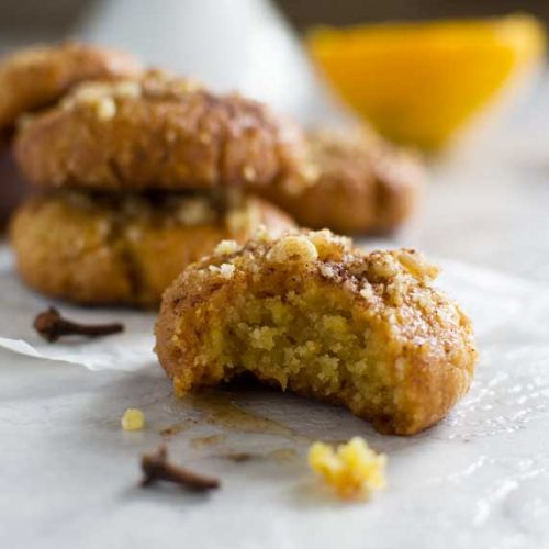 Greek Christmas honey cookies. You won't be able to eat just one. Delicious!