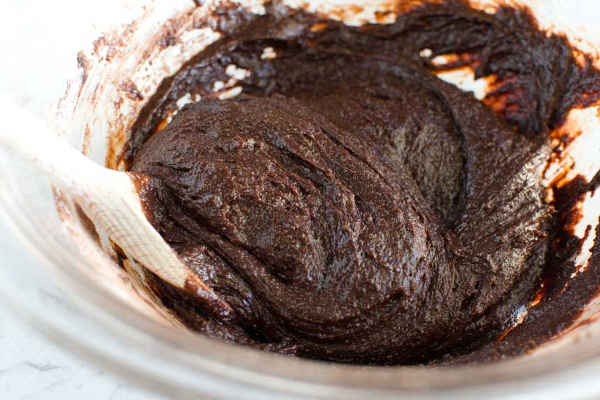 Making gooey Swedish chocolate cake (kladdkaka)