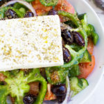 How to make a Greek salad.