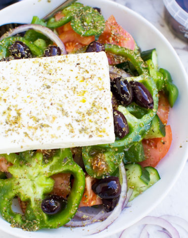 How to make a Greek salad (with video)
