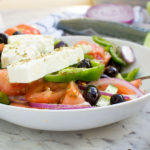 How to make a Greek salad. You might know how to make th