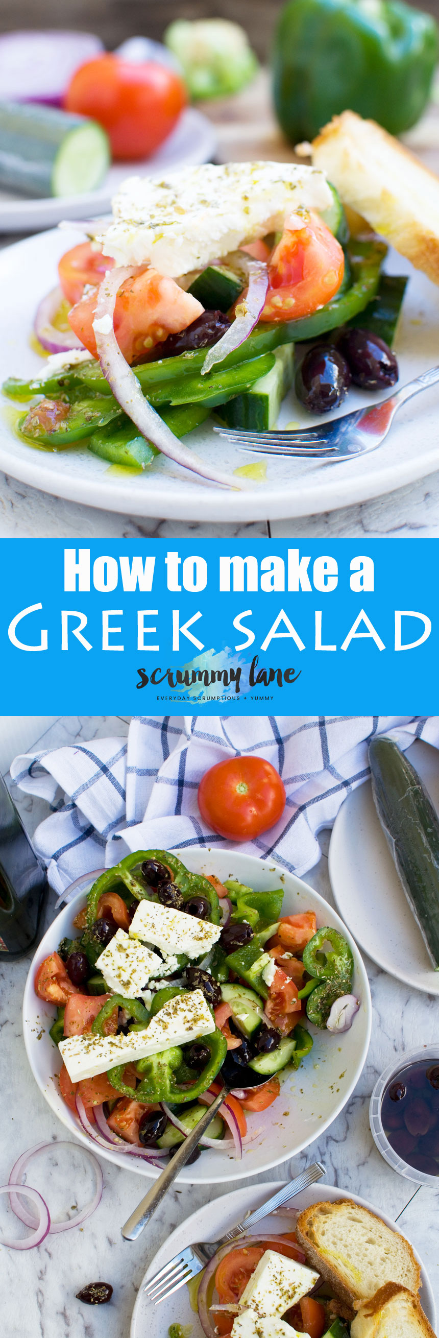 How to make a Greek salad. You might know how to make this delicious salad, but do you really?