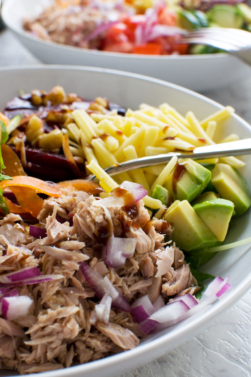 Our favourite easy tuna salad - Scrummy Lane
