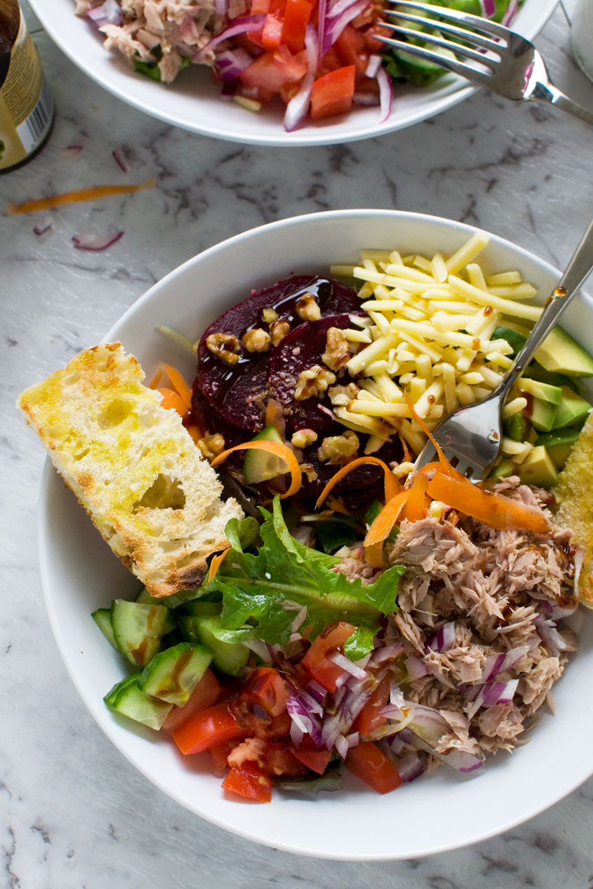 Tuna Salad At Least Thats What Menu >> Our Favourite Easy Tuna Salad Scrummy Lane