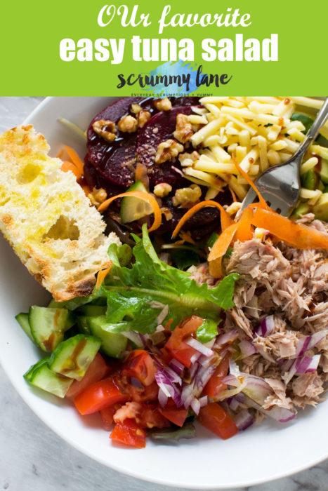 easy tuna salad