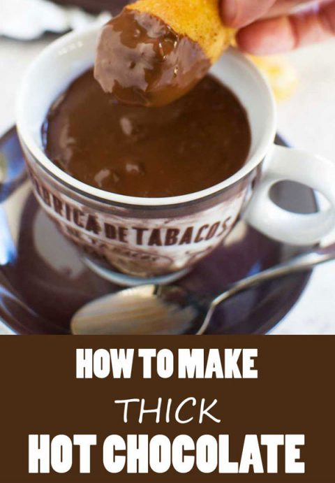 How to make thick Italian hot chocolate