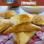 Tiropita or mini Greek cheese pies