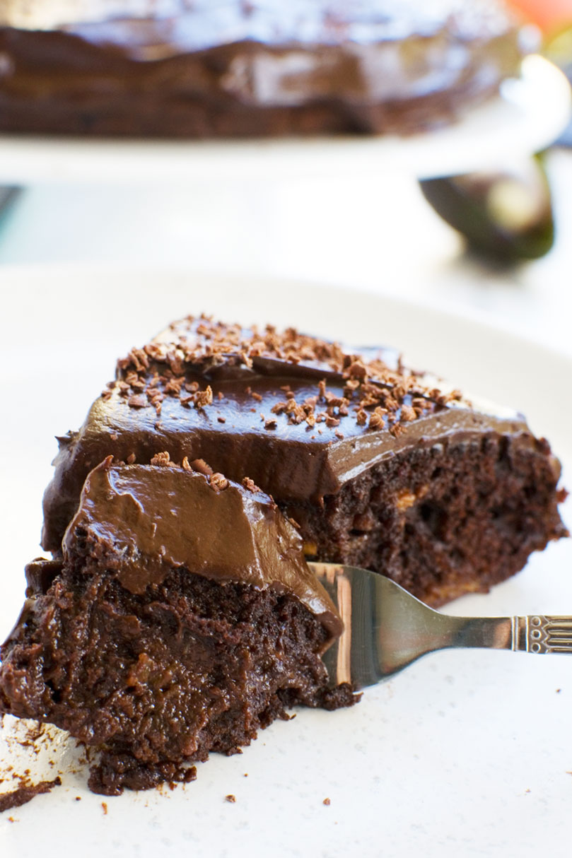 8 minute healthy chocolate cake