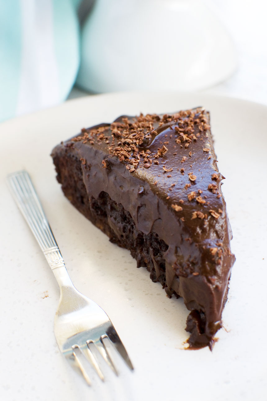30 minute healthy chocolate cake