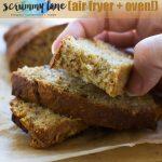Quick and easy mini banana bread
