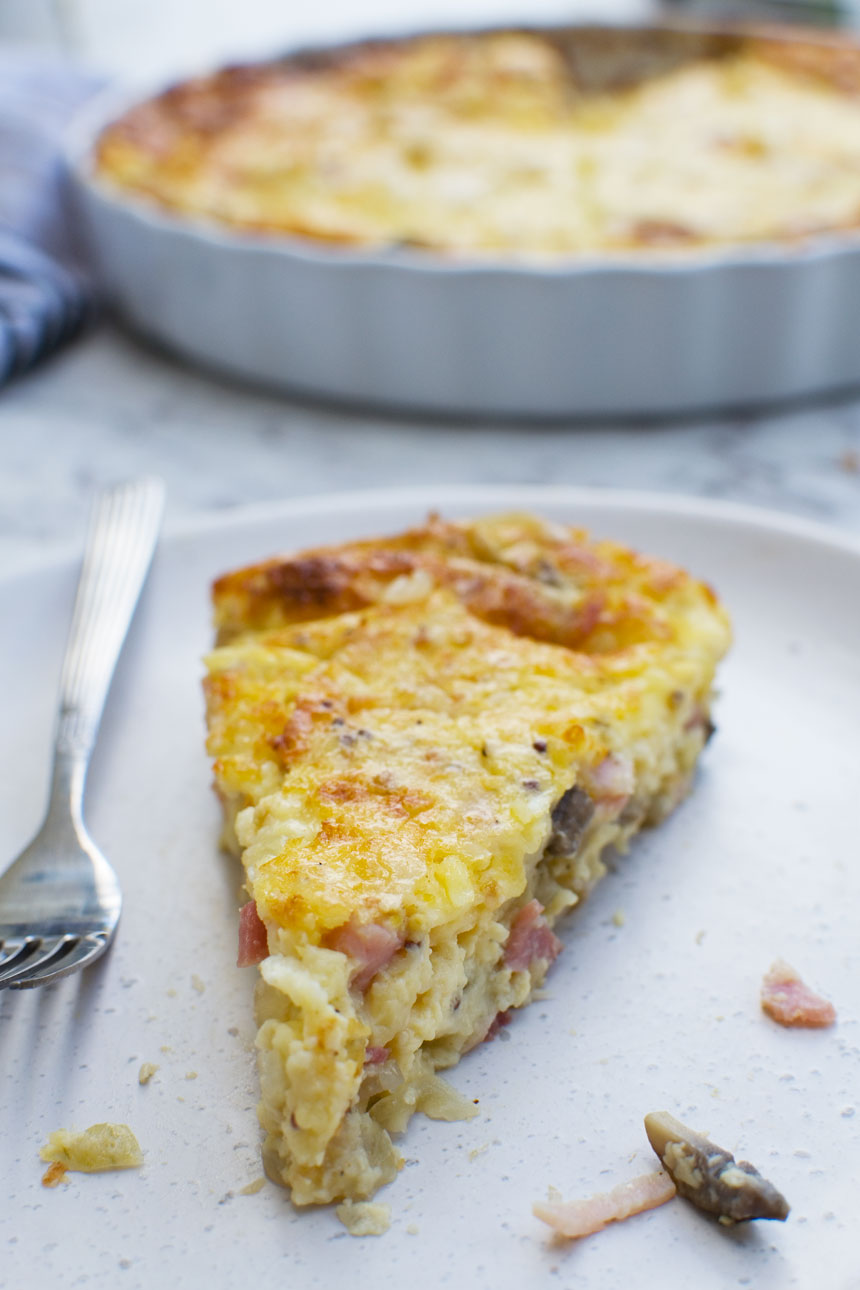 The very best crustless quiche (impossible quiche)
