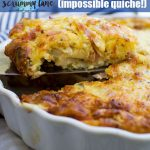The very best crustless quiche (impossible quiche!)