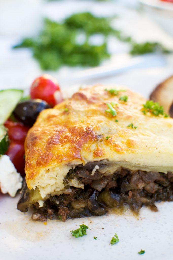 easy moussaka recipe