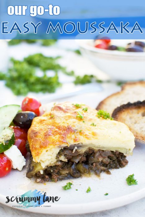 Easy moussaka (the ultimate guide)