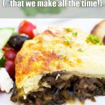 Easy Greek moussaka - the ultimate guide