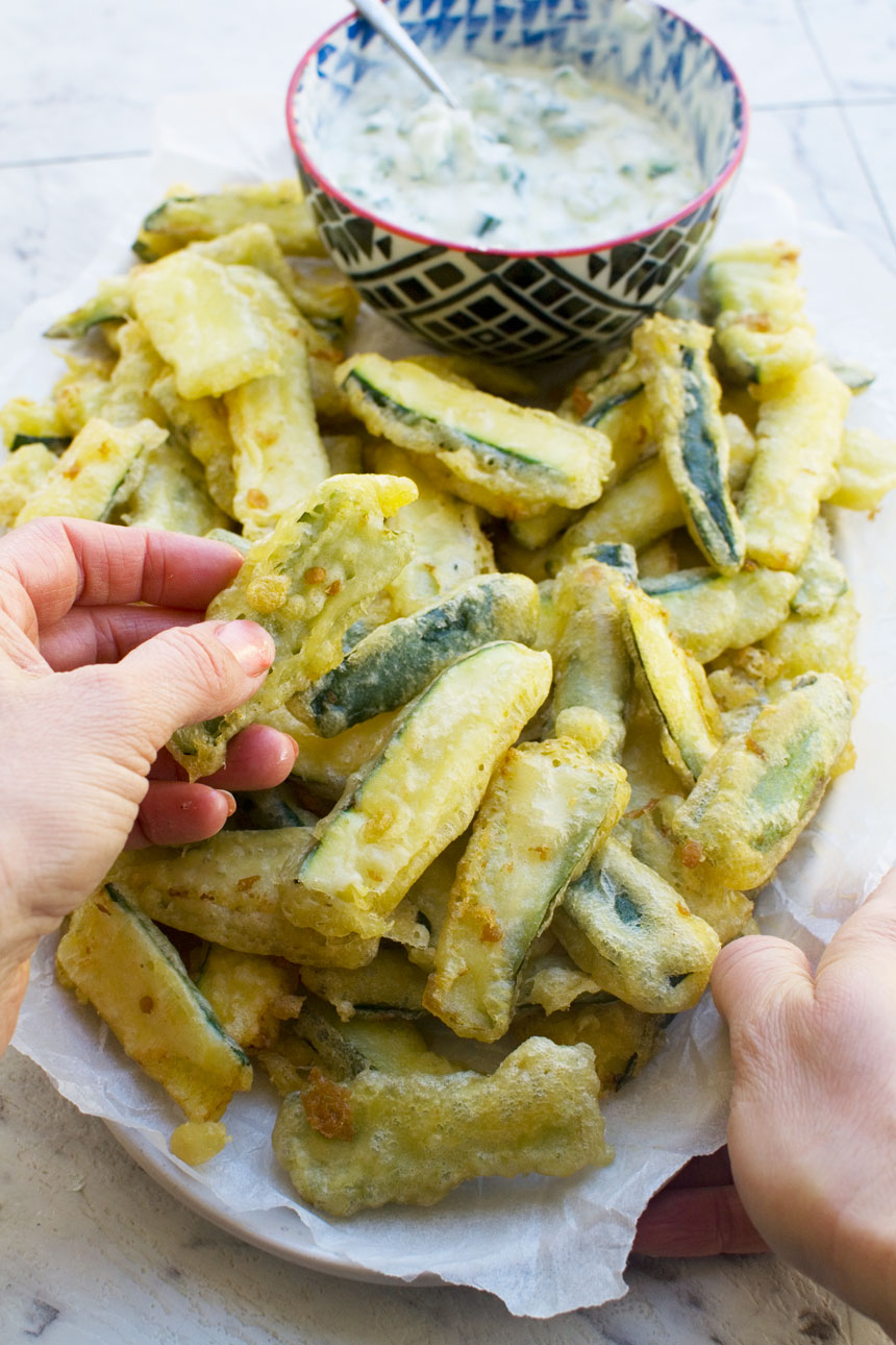 The Best Easy Zucchini Fries With Tempura Batter Scrummy Lane